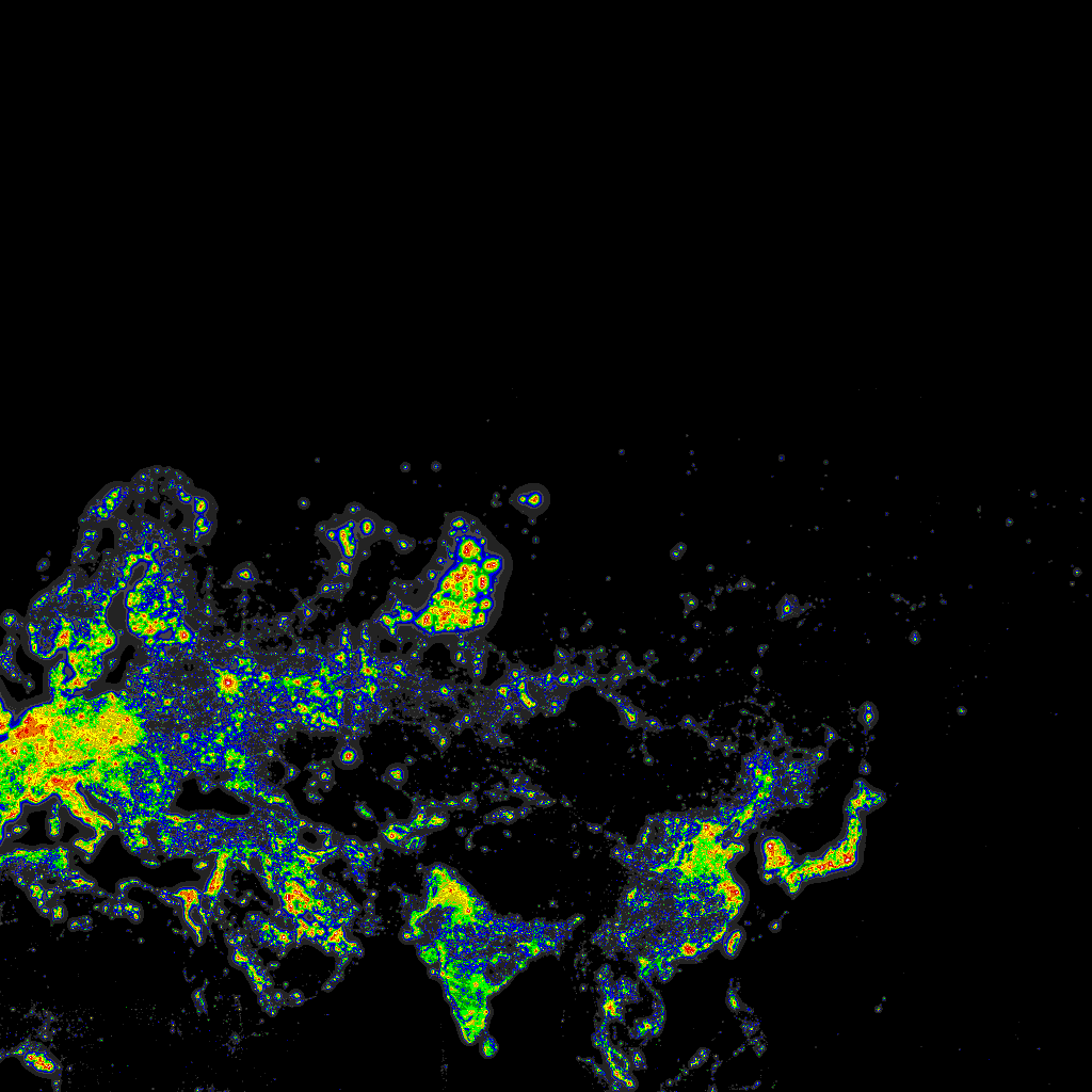 DarkSiteFindercom Light Pollution Map - Us light pollution map