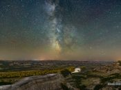 Theodore Roosevelt Milky Way