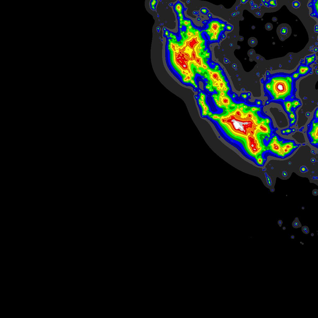 Light Pollution Map - DarkSiteFinder com