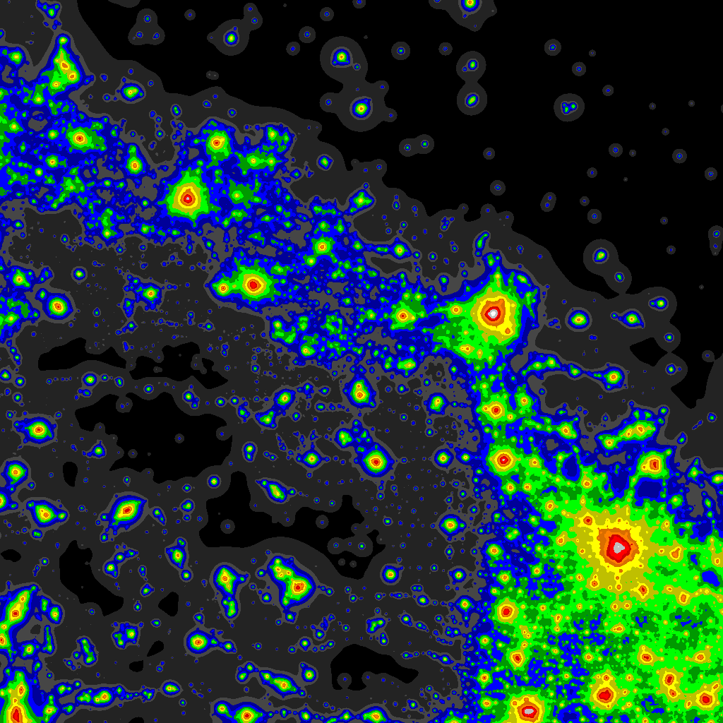 Light Pollution Map - DarkSiteFinder com