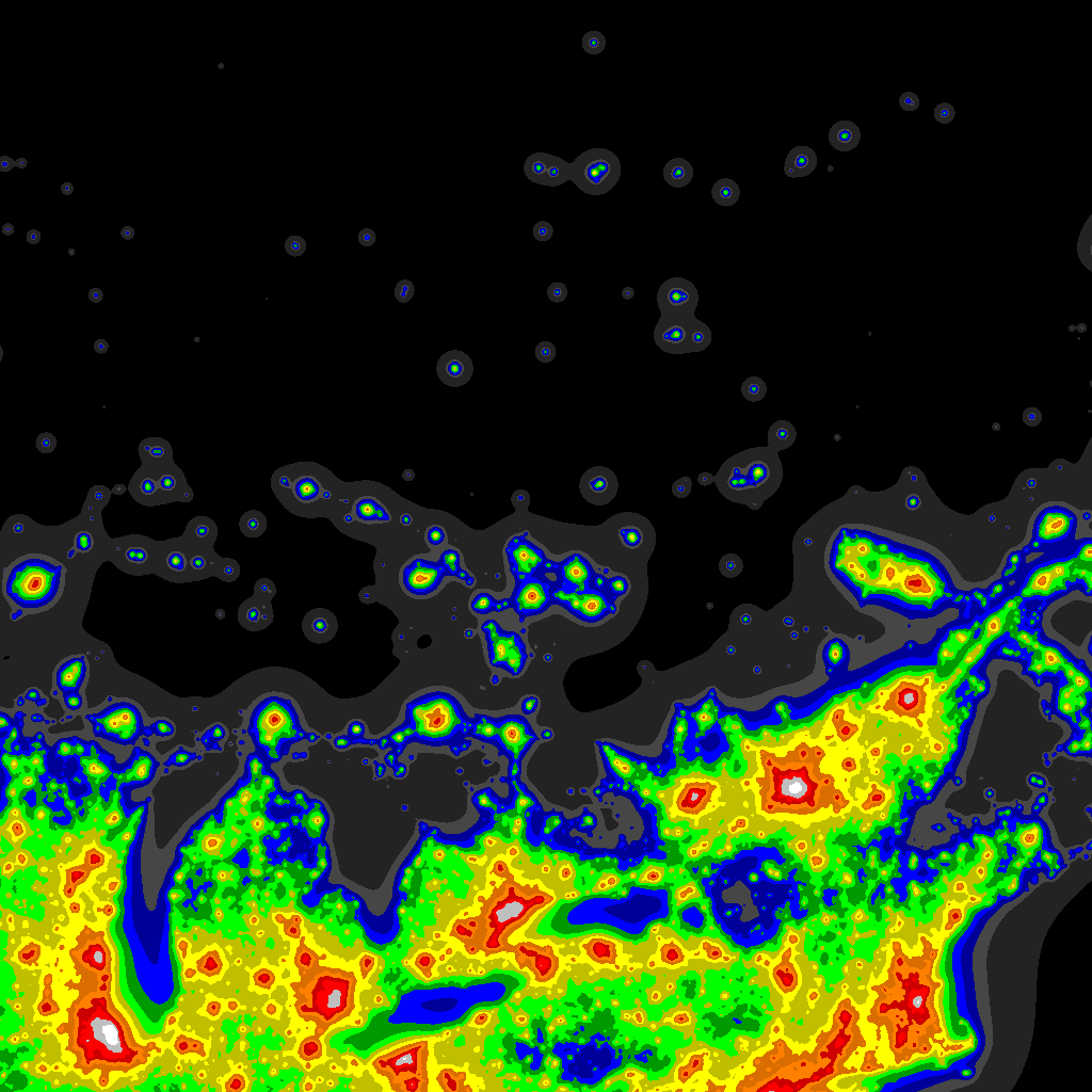 Light Pollution Map Darksitefinder Com